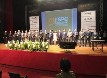 Belivaldo participa do lançamento do Fórum Sergipano de Petróleo e Gás