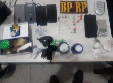 BPRp prende três homens acusados de assalto e tráfico de drogas
