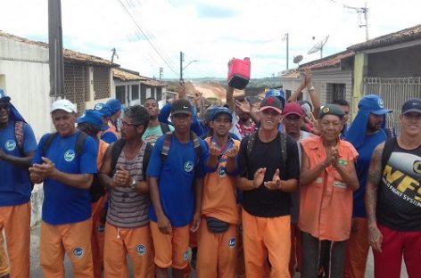Garis decretam greve e serviços são paralisados em São Cristóvão