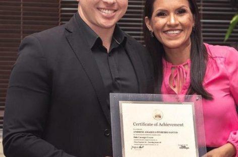 Advogado sergipano, Andress Amadeus, é premiado em curso internacional