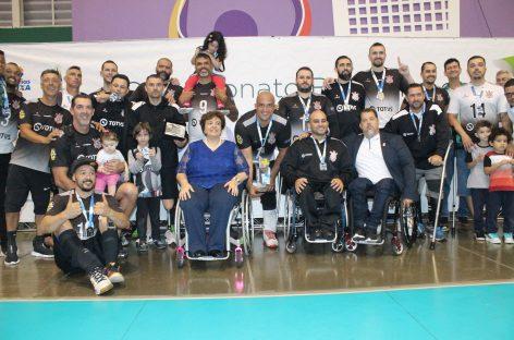 Sesi conquista o tricampeonato do Brasileiro de Vôlei Sentado Série Ouro