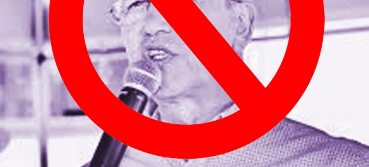 Betão repudia censura praticada por Marcos Santana contra vereador Lilo Abençoado