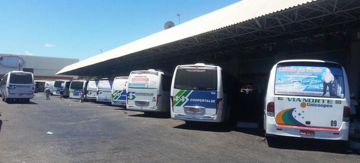 Frota reserva de transporte intermunicipal é liberada durante período de Réveillon