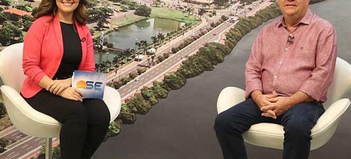 """""""2019 foi um ano dedicado a organizar as finanças"""", disse Belivaldo em entrevista"""
