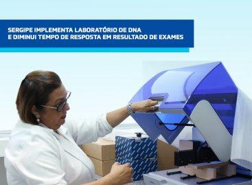 Sergipe implementa laboratório de DNA e diminui tempo de resposta de exames