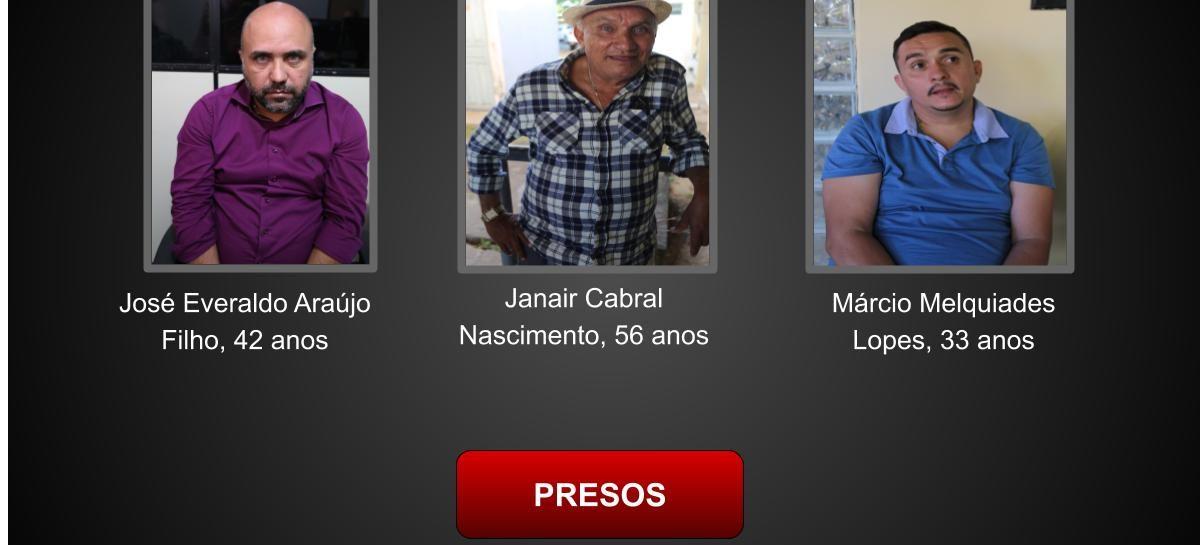 Polícia Civil prende trio acusado de aplicar golpes em idosos em Aracaju