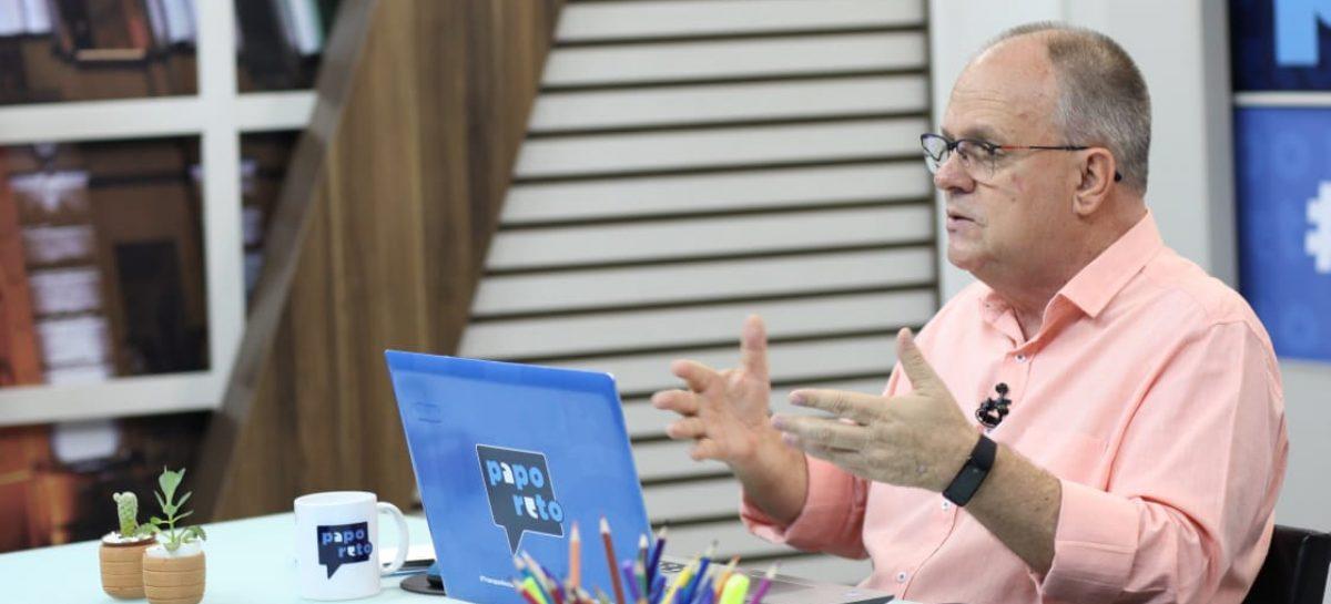 """Belivaldo diz que """"este governo é composto pelo PT. A vice-governadora é do PT"""""""