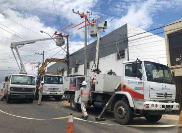 Energisa prepara rede elétrica para a alta estação no estado