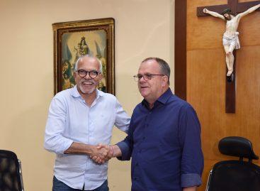 Prefeito Edvaldo se reúne com governador: parceria em prol de Aracaju e Sergipe
