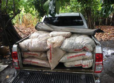 Policiais do Copsi e de Capela recuperam mais de 5 toneladas de fertilizantes furtados