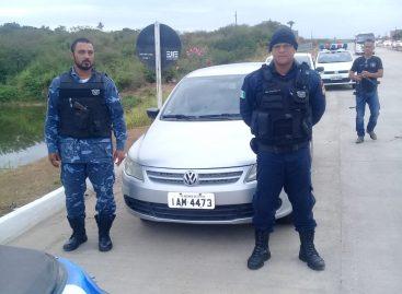 Guarda Municipal de Rosário recupera o 44° veículo após ser tomado em assalto
