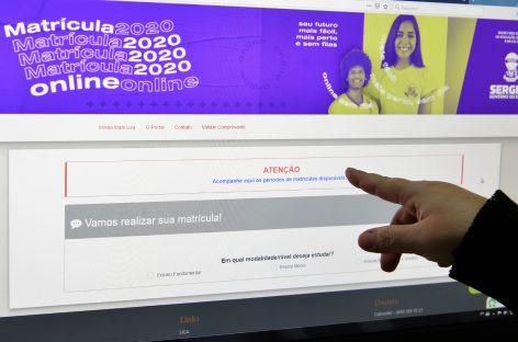 Comunidade escolar deve ficar atenta ao Portal de Matrícula Online