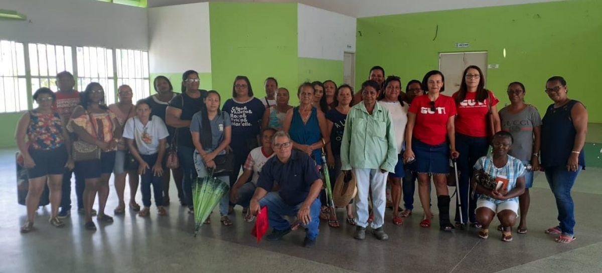 Servidores de Carmópolis procuram a CUT/SE para lutar por seus direitos