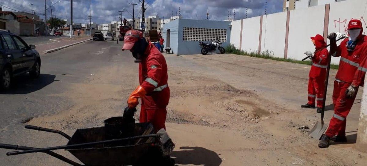 Prefeitura de Nossa Senhora do Socorro continua com a operação Tapa-Buraco