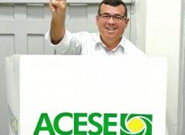 Marco Pinheiro é reeleito presidente da Associação Comercial e Empresarial de Sergipe