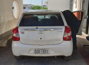 """Vereador de Lagarto é flagrado usando carro roubado e diz que  foi um """"presente"""""""