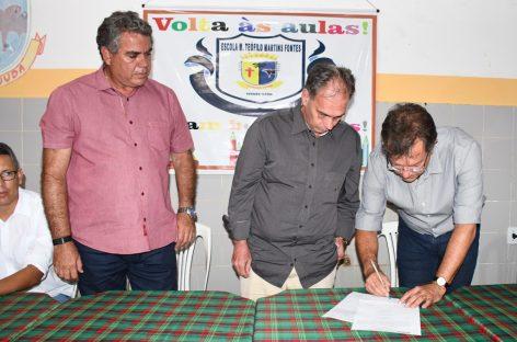 Itaporanga recebe Arena Multiuso com emenda do deputado Laércio