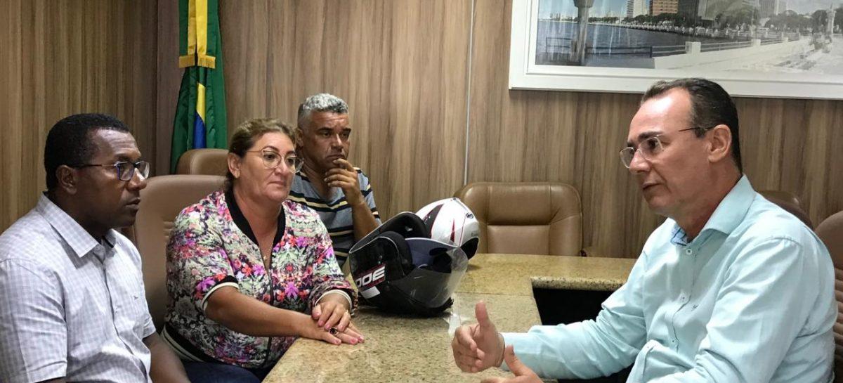 Zezinho Sobral recebe associações e dialoga sobre obras do Terminal Pesqueiro