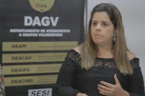 DAGV realiza mais de 560 prisões em flagrante por violência contra grupos vulneráveis
