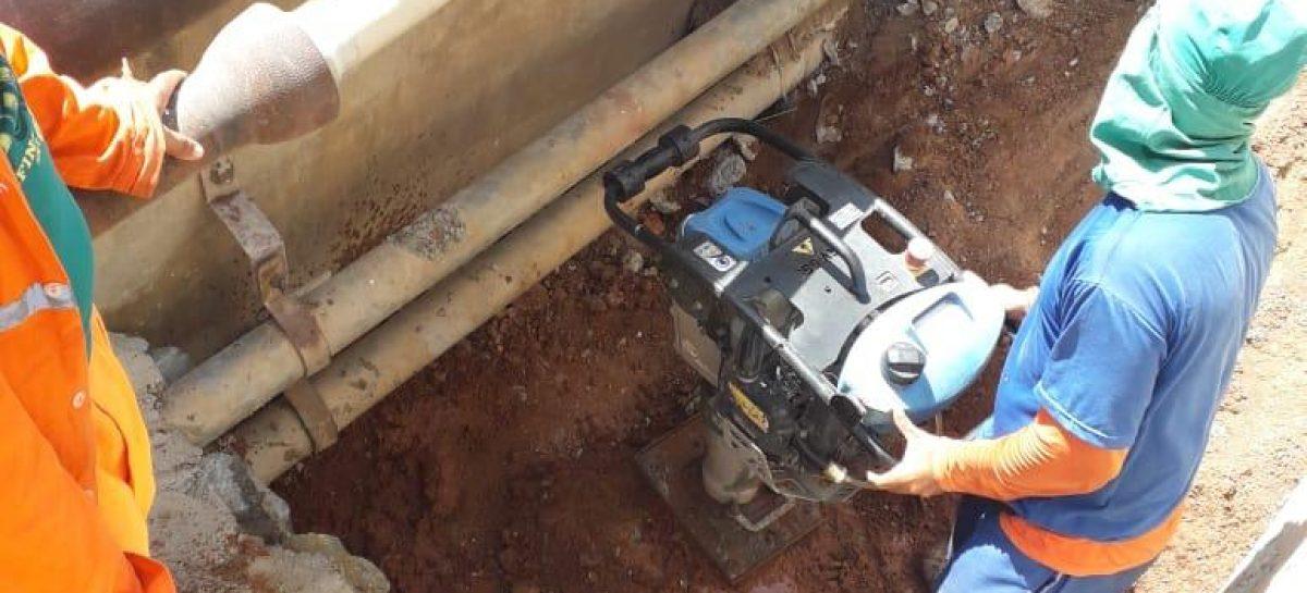 Obras na ponte em Riachuelo serão concluídas até sexta-feira