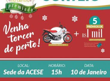 ACESE realizará sorteios da promoção Natal no Centro Premiado na sexta-feira, 10