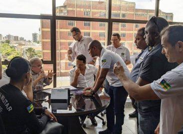 Sinpol/SE encaminha projetos de interesse da categoria policial civil para presidente da Alese