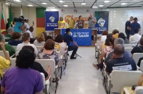 Conselheiros de Sergipe participam de reunião do Conselho Nacional de Saúde no RS
