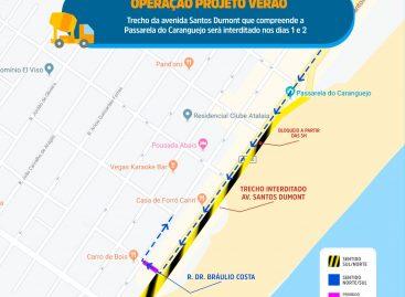 SMTT altera trânsito na região da Passarela do Caranguejo neste fim de semana