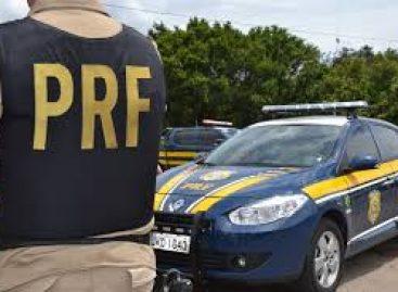 PRF detém caminhoneiro com documento falso na BR 101