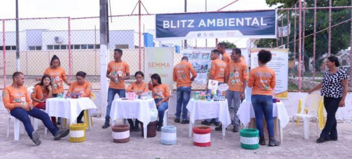 Prefeitura realiza Blitz Ambiental no Conjunto Fernando Collor