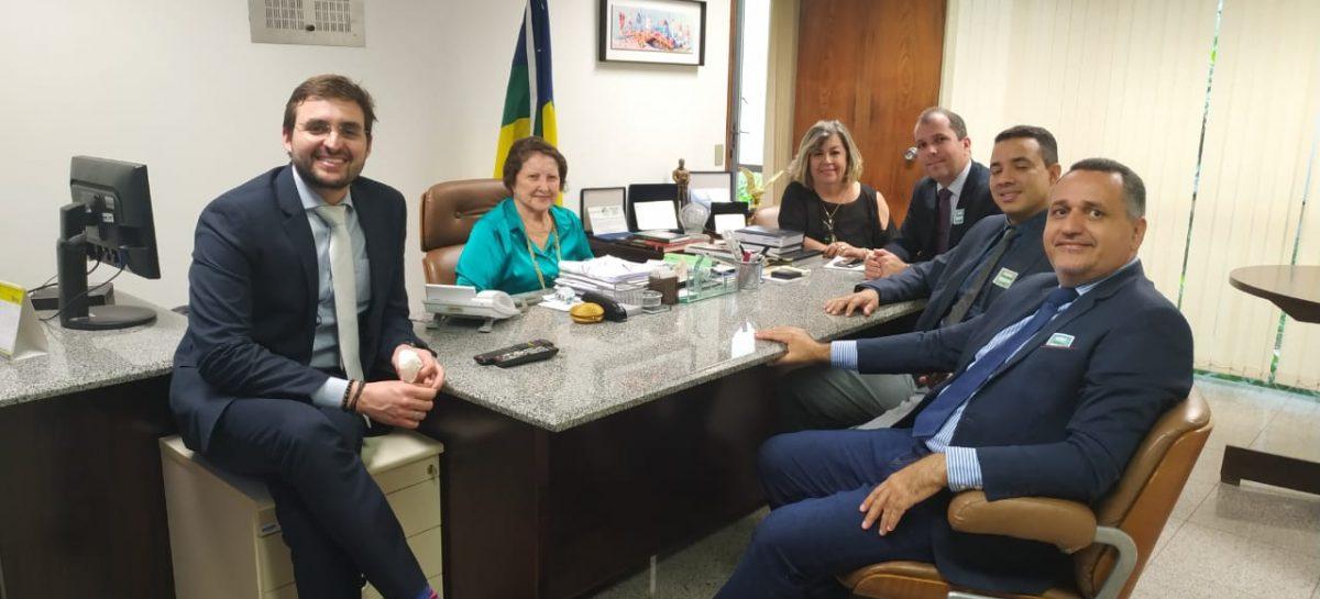 Em Brasília, Conivales discute capacitação e recebimento de emendas com CMN