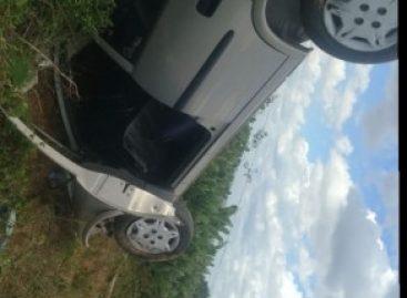Médico capota veículo na rodovia de São Miguel do Aleixo