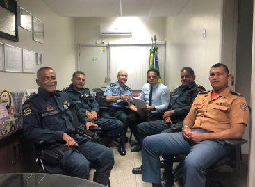 Majores da PM e BM recebem apoio do Capitão Samuel em busca da carreira única