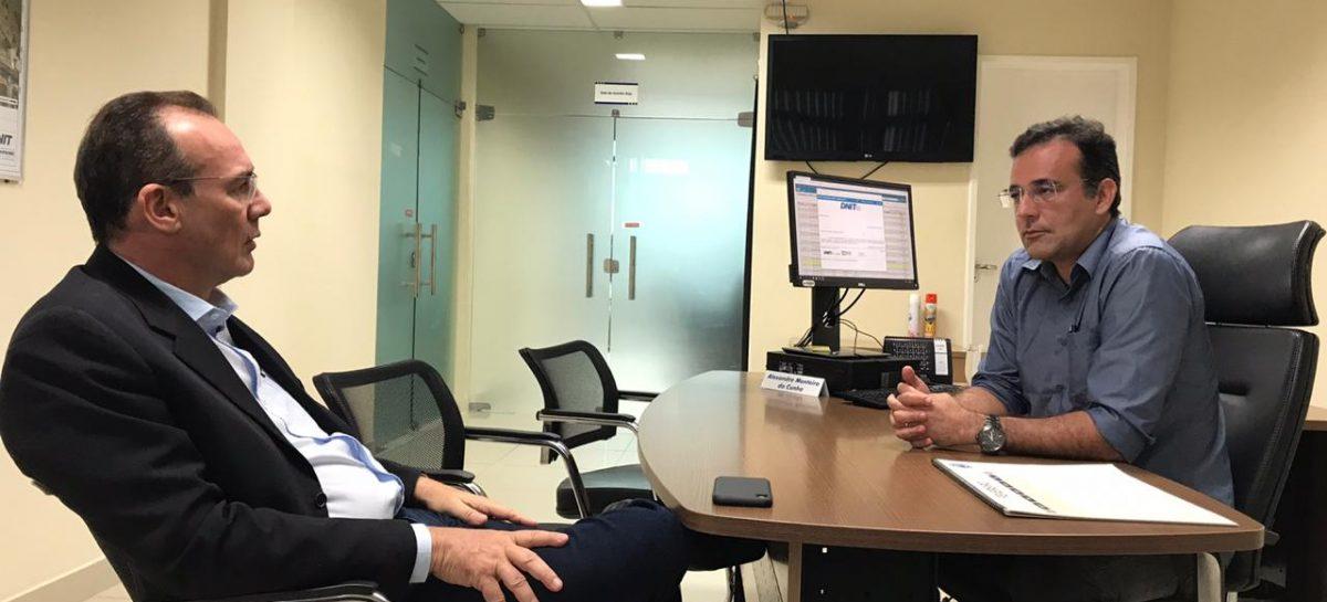 Zezinho Sobral é recebido por nova gestão do DNIT e dialoga sobre BR 101