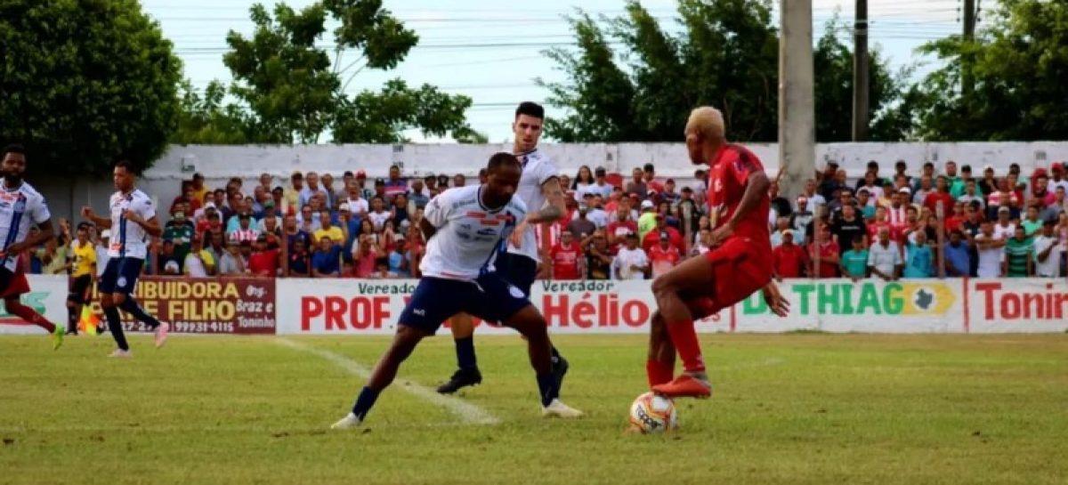 Dorense e Confiança empatam pelo Sergipão e Lagarto vence na Copa Brasil