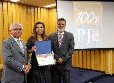 Tribunal Regional do Trabalho da 20ª Região recebe Selo 100% PJe