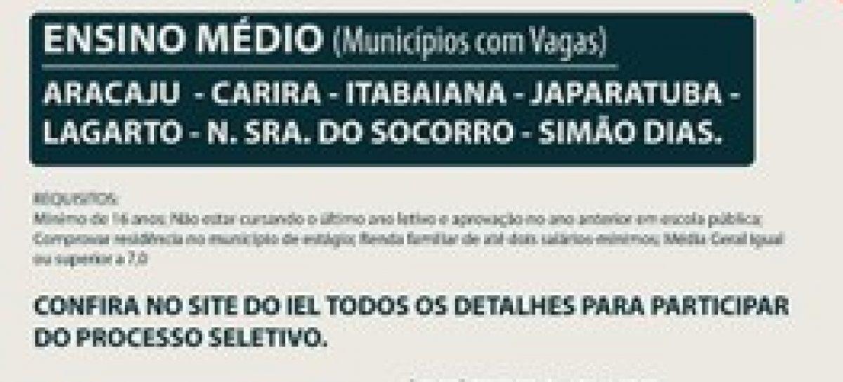 TRE de Sergipe está com vagas abertas para estágio de nível médio