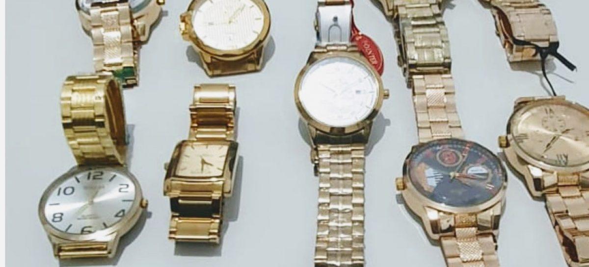 Policiais do 7º BPM prendem assaltante e recuperam relógios avaliados em 23 mil