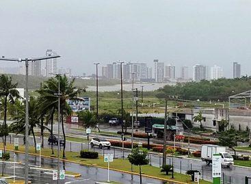 INMET emite alerta para previsão de chuvas intensas, principalmente em Aracaju