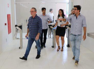 Secretário da Saúde visita obra que será modelo para ante projeto do Hospital do Câncer