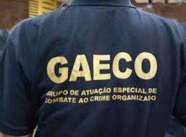 Operação do Gaeco cumpre sete mandados de busca e apreensão e dois de prisão preventiva