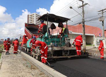 População acompanha com entusiasmo evolução da obra do corredor Augusto Franco
