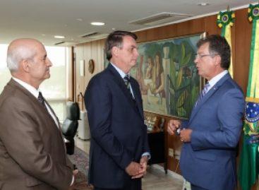 Laércio fala com Bolsonaro sobre a inserção de pessoas com mais de 50 anos no mercado de trabalho