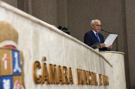 Na Câmara, Edvaldo faz balanço de 3 anos da gestão e apresenta projetos para o futuro de Aracaju