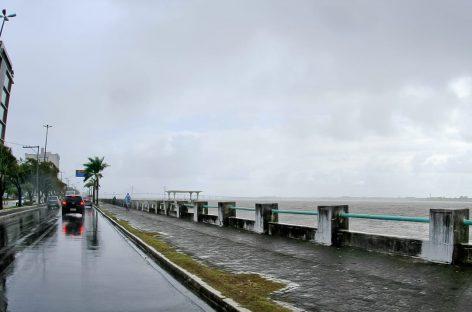 Meteorologia prevê tempo nublado com ocorrência de chuvas no estado nos próximos dias