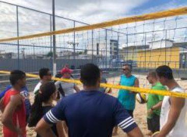 Curso de Iniciação ao Vôlei de Praia mostra fundamentos a participantes em Itabaianinha