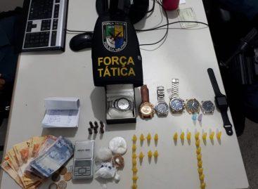 Dono de lanchonete é preso por tráfico de drogas e posse de munições