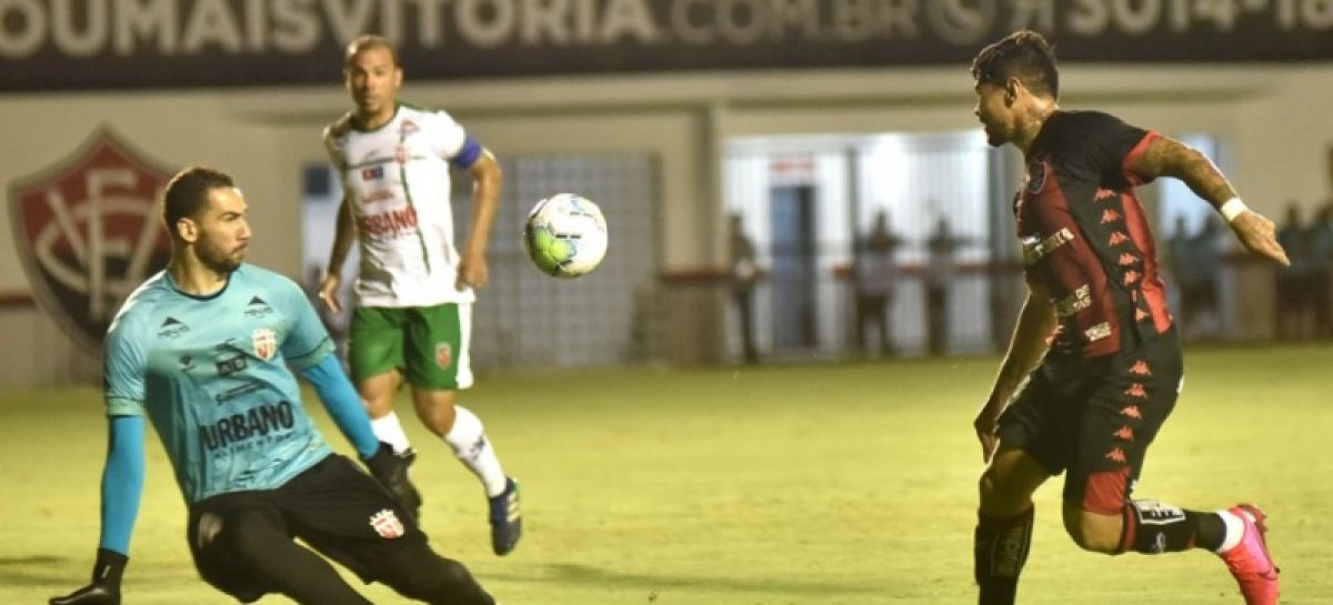 Lagarto perde para o Vitória e está eliminado da Copa do Brasil