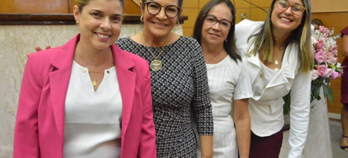 Bancada feminina da Assembleia de Sergipe quer mais espaços de poder
