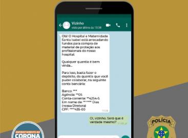 Novo Golpe: estelionatários estão usando o WhatsApp para arrecadar dinheiro